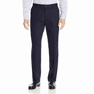 Link to Dockers Mens Pants Navy Blue Size 44x30 Classic-Fit Khaki Flat-Front Similar Items in Big & Tall