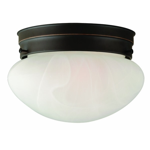 Design House 514547 Millbridge 1-Light Ceiling Mount, Oil Rubbed Bronze