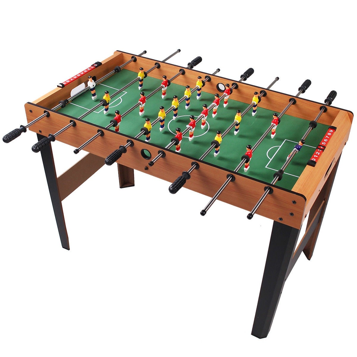 Gymax Foosball Table Arcade Game Soccer For Kids Christmas Gift   As Pic
