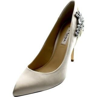 Nina Rhonae Pointed Toe Canvas Heels