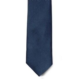 Men's 100% Microfiber Navy Tie