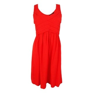 Style & Co. Women's Sleeveless V-Neck Dress - m