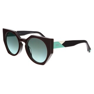 FENDI 0151/S 0PJQ- EQ Dark Brown Irregular Sunglasses - 51-22-140