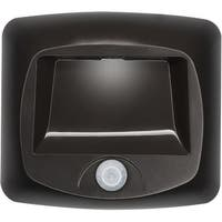Mr. Beams MB520  Battery-Operated Indoor/Outdoor Motion-Sensing LED Step/Stair Light, Brown