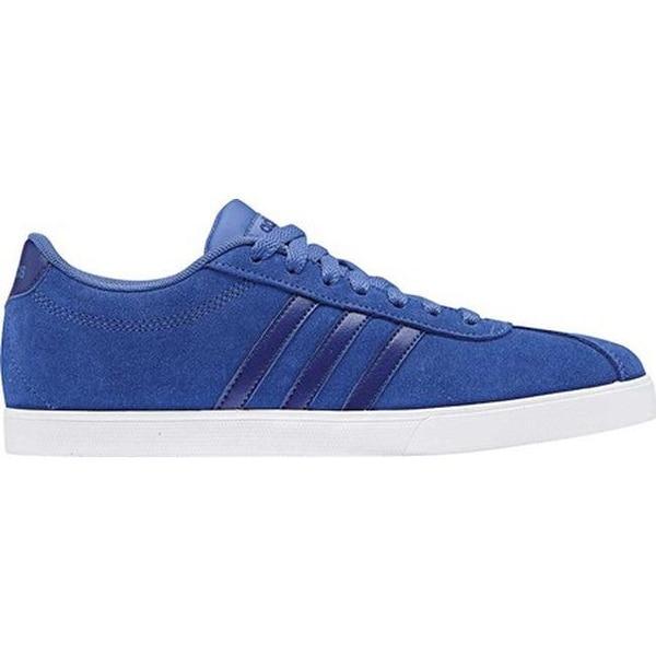 7b2c587b adidas Women's NEO Courtset Sneaker Hi-Res Blue/Mystery Ink/Dark Blue