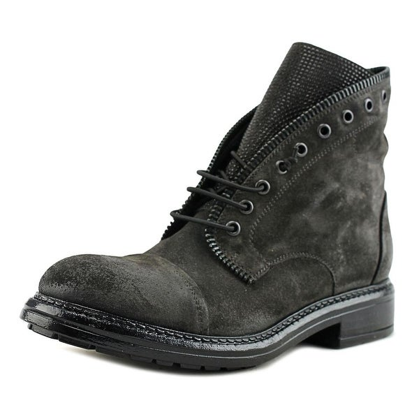 VC Signature Shelly Women Cap Toe Suede Gray Boot