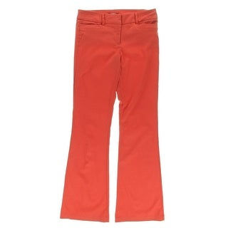XOXO Womens Bel-Air Poplin Classic Boot Dress Pants