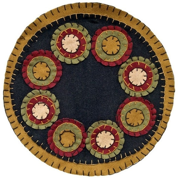"""Penny Candle Mat 9"""""""