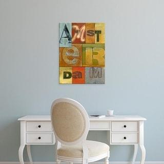 Easy Art Prints Vision Studio's 'Amsterdam' Premium Canvas Art