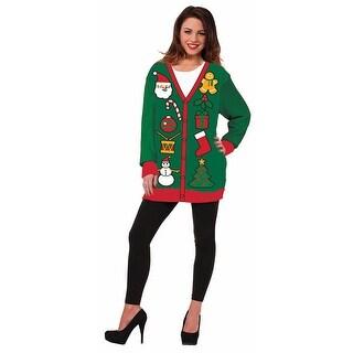 Christmas Cardigan Everything Adult