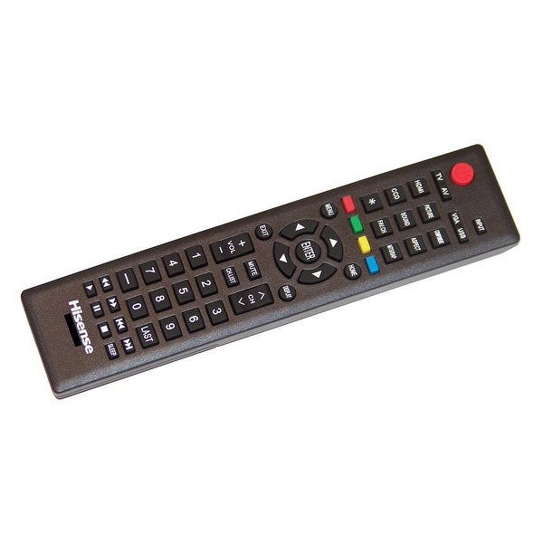 OEM Hisense Remote Control Originally Shipped With: 32A320, 40K360M, 40K360MN, 46K360M, 46K360MN, 46K360MV1, 46K360MV2