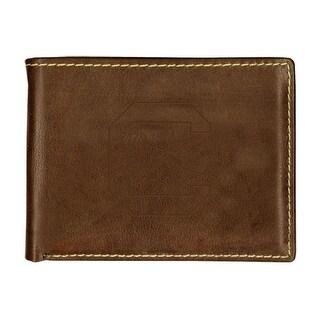 University of South Carolina Contrast Stitch Bifold Leather Wallet