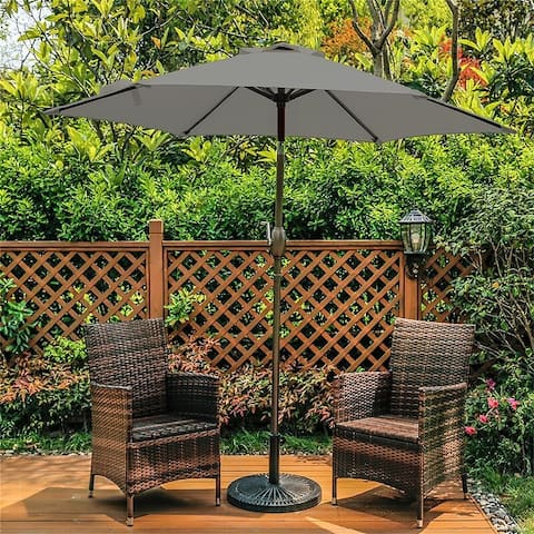 Bonosuki 7.5ft Patio Umbrella Waterproof Sunshade Canopy