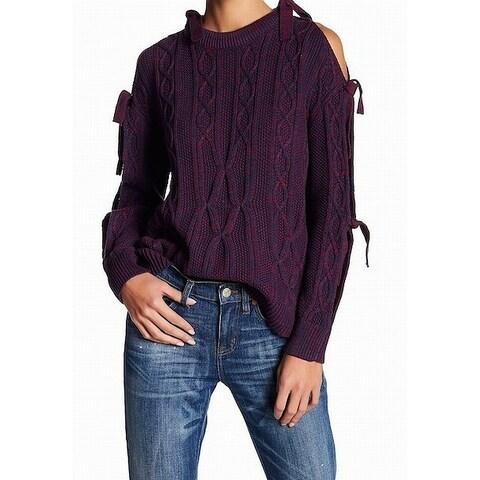 Project Naadam Womens Medium Marled Pullover Sweater