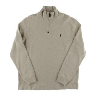 Polo Ralph Lauren Mens Pullover Sweater Long Sleeves Mockneck - L