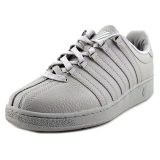 K-Swiss Classic VN Men  Round Toe Leather Gray Sneakers