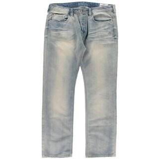 Buffalo David Bitton Mens Evan Basic Sublimation Whisker Wash Slim Jeans - 36/32