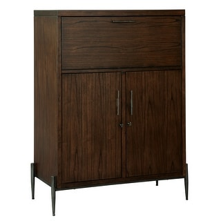 Link to Howard Miller Open Cellar II Solid Wood Foyer Liquor or Wine Cabinet Similar Items in Home Bars