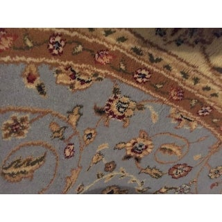 Safavieh Lyndhurst Traditional Oriental Light Blue/ Ivory Rug (6' Round)