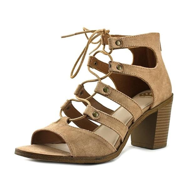 Fergalicious Mambo Tan Sandals