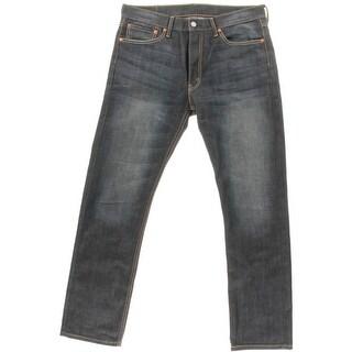 Levi Strauss & Co. Mens 513 Denim Solid Straight Leg Jeans - 32/32