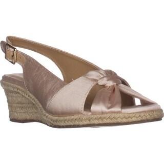 Bella Vita Seraphina II Espadrille Wedge Sandals, Natural