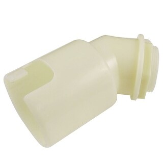 Unique Bargains 1 7/32 Male Thread Washing Machine PVC Pipe Fitting Elbow Connector