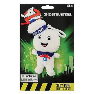 "Ghostbusters 4"" Talking Plush Stay Puft Marshmallow Man: Happy Face"