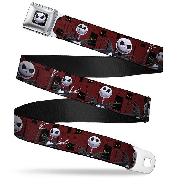 Jack Expression6 Full Color Nightmare Before Christmas 3 Jack Poses Peeping Seatbelt Belt
