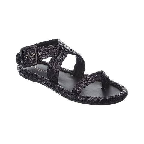 Dior Raffia Sandal