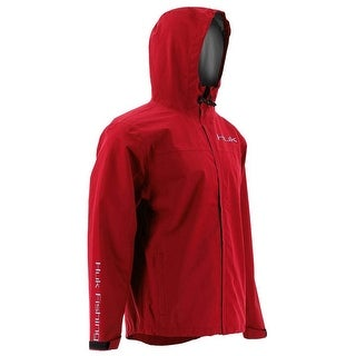 Huk Men's Packable Red XX-Large Rain Jacket