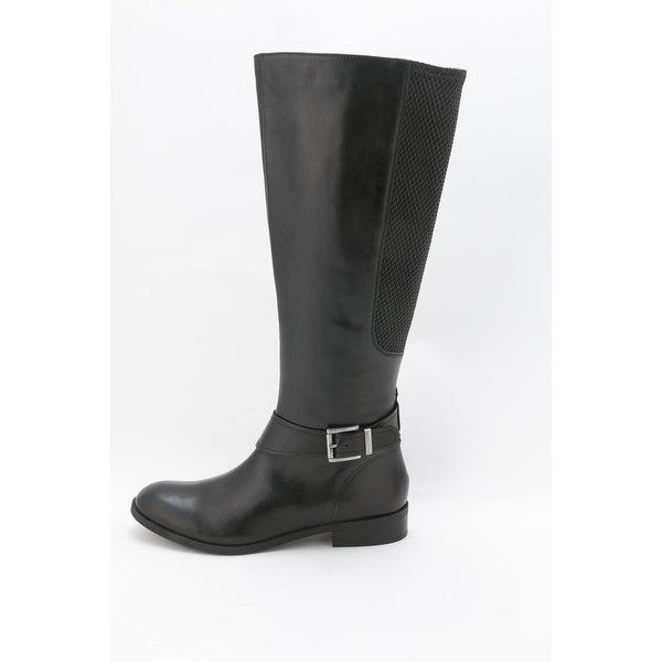 CLARKS Womens Pita Arizona Leather Closed Toe Knee High Fashion Boots