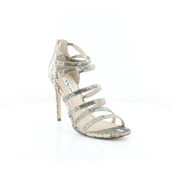Nina Chelise Women's Sandals & Flip Flops Natural Syra - 10