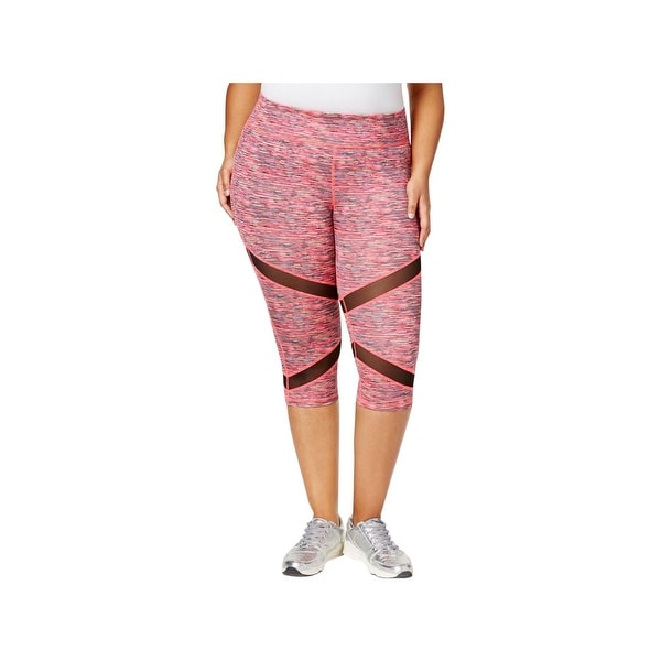 482e6780259a0 Shop Material Girl Womens Plus Athletic Leggings Printed Cropped - 3x -  Free Shipping On Orders Over $45 - Overstock - 23092218