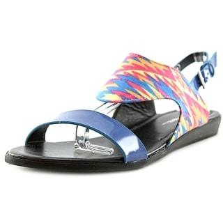C Label Lingo 2 Open-Toe Synthetic Slingback Sandal