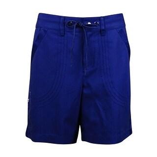 Jag Women's Seamed Grosgrain Drawstring Shorts