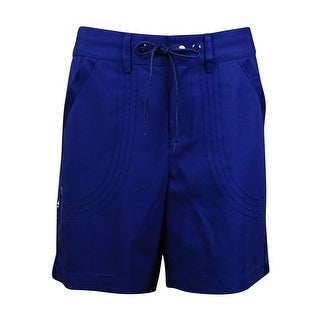Jag Women's Seamed Grosgrain Drawstring Shorts https://ak1.ostkcdn.com/images/products/is/images/direct/0970cc9b65ff76e7e9c3921315f542cd3c0154e0/Jag-Women%27s-Seamed-Grosgrain-Drawstring-Shorts.jpg?_ostk_perf_=percv&impolicy=medium
