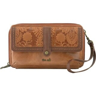 THE SAK Women's Sequoia XL Smartphone Crossbody Tobacco Floral Embossed - US Women's One Size (Size None)