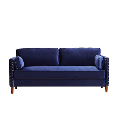 Afa 31.1'' Velvet Square Arm Sofa - 32.7'' H x 31.1'' W x 73.2'' D