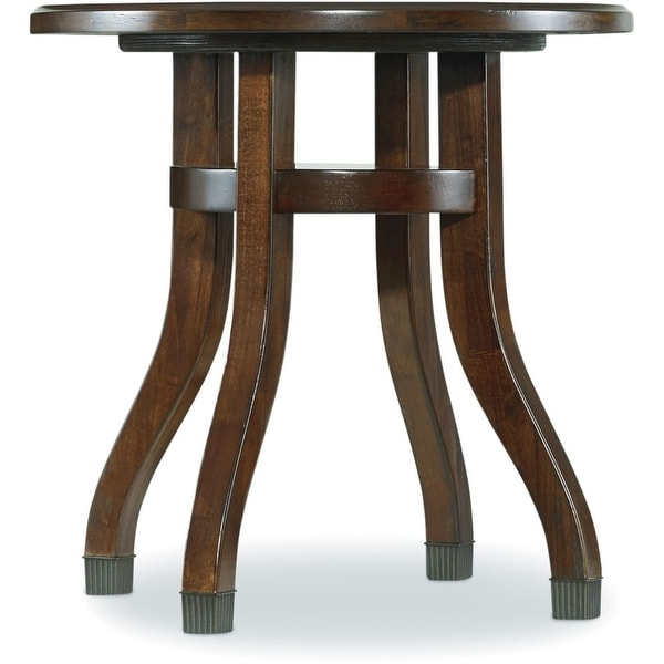 Shop Hooker Furniture 5183 80116 24 Wide Rubberwood Accent Table