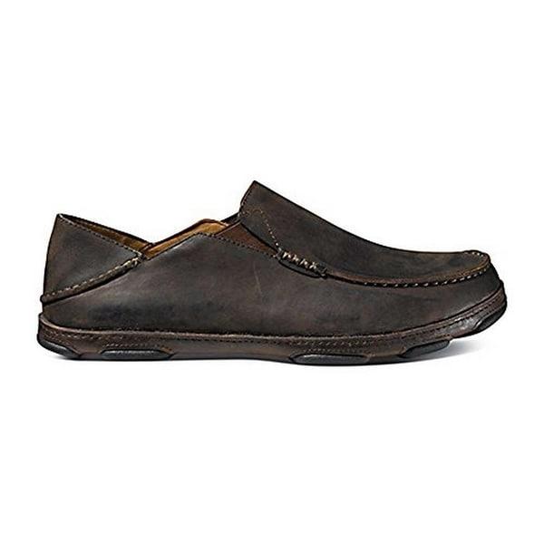 Olukai Men's Moloa Dark Wood/Dark Java Sneaker 13 D (M)