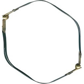 "Gold & Silver - Internal Flex Purse Frame 10"""