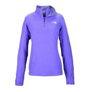 The North Face Women Glacier 1/4 Zip Fleece Starry Purple