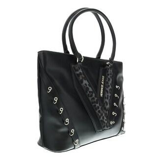 Versace EE1VOBBX1 EMAQ Black Shopper/Tote - 15-13-5