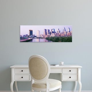 Easy Art Prints Panoramic Images's 'Philadelphia PA' Premium Canvas Art