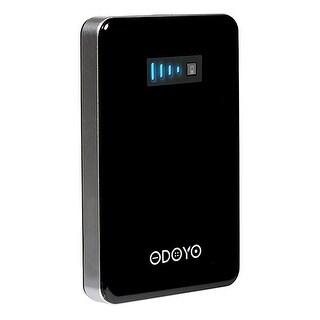 Odoyo Black Power Bank 4800 mAh Rechargable External Battery Portable Charger