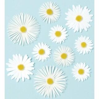Martha Stewart Stickers-Daisies