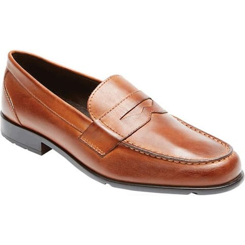 Rockport Men's Classic Loafer Lite Penny Cognac Leather
