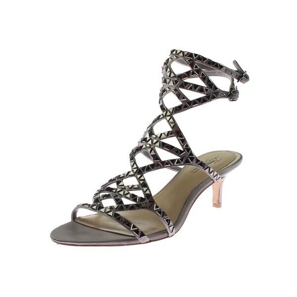 Imagine Vince Camuto Womens Kimbar Dress Sandals Satin Studded