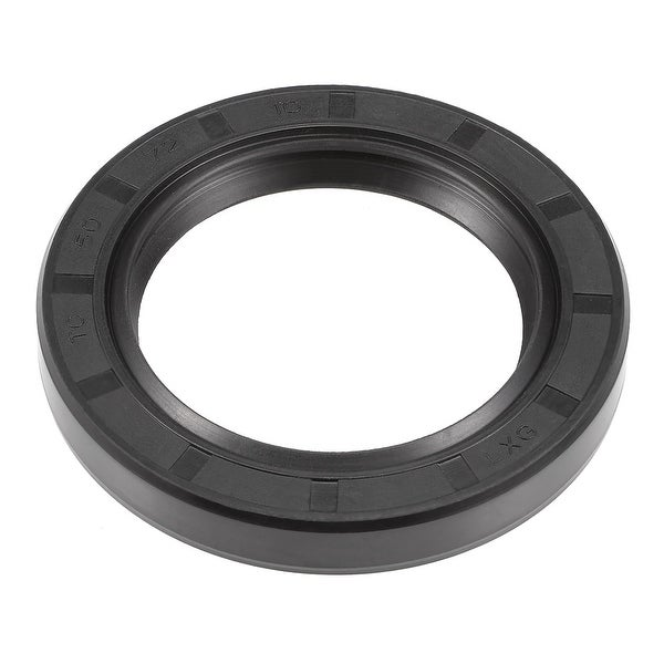 Oil Seal, TC 50mm x 72mm x 10mm, Nitrile Rubber Cover Double Lip - 50mmx72mmx10mm